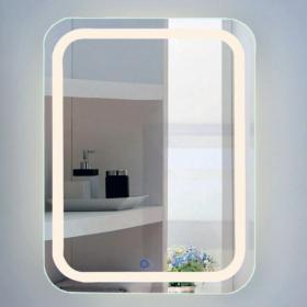 Miroir lumineux LED, 60x80cm, Squared