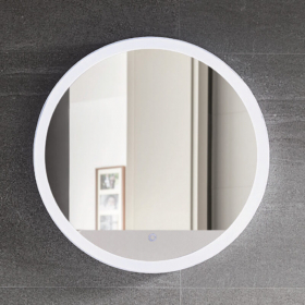 Miroir lumineux rond avec éclairage LED, Ø60 cm, Round