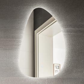 Miroir lumineux avec éclairage LED, 80x52 cm, Bona