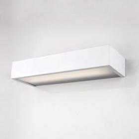 Applique box LED 50 cm, blanc mat, Qube