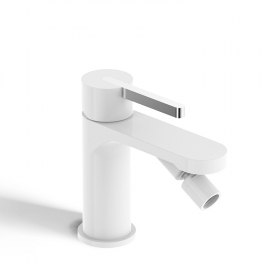 Mitigeur Bidet Monocommande, blanc satiné, Infinity Flow Stick