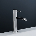 Robinet Mitigeur lavabo chrome, Thin