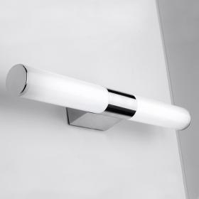 Applique murale salle de bain LED chromée, Ronda