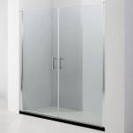 Porte de douche saloon, 100 ou 120 cm, Orense