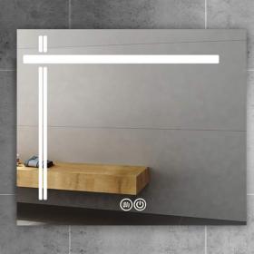 Miroir lumineux LED, 100x80 cm, T-Light
