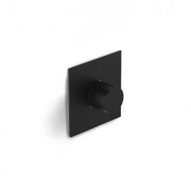 Inverseur 3 sorties, noir mat - Infinity elegance