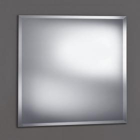 Miroir salle de bain biseauté, 80x80 cm, Reflect