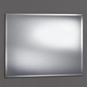 Miroir salle de bain biseauté, 100x80 cm, Reflect