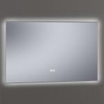 Miroir rétro-éclairant LED, anti-buée, 120x80cm, Pure