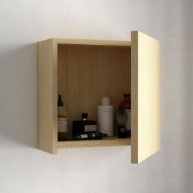 Cube de rangement 33x33 cm, Chêne clair, Cubo
