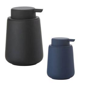Distributeur de savon liquide à poser, bleu ou noir, Nova One