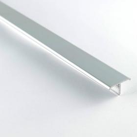Profilé aluminium de jonction en T 25mm 250cm