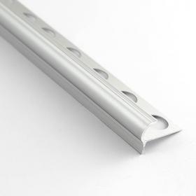 Profilé nez de marche aluminium 11mm 250cm