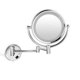 Miroir cosmétique grossissant, éclairant, Glass