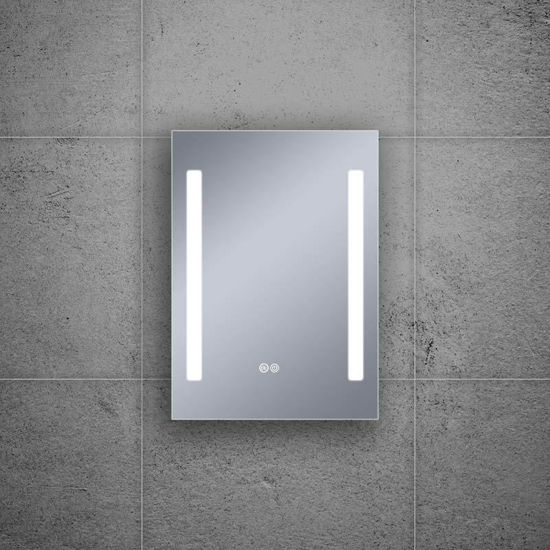 Miroir éclairant LED, 60x80cm, Luce