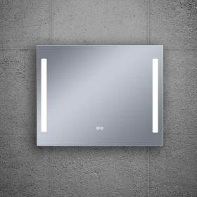 Miroir éclairant LED, 100x80cm, Luce