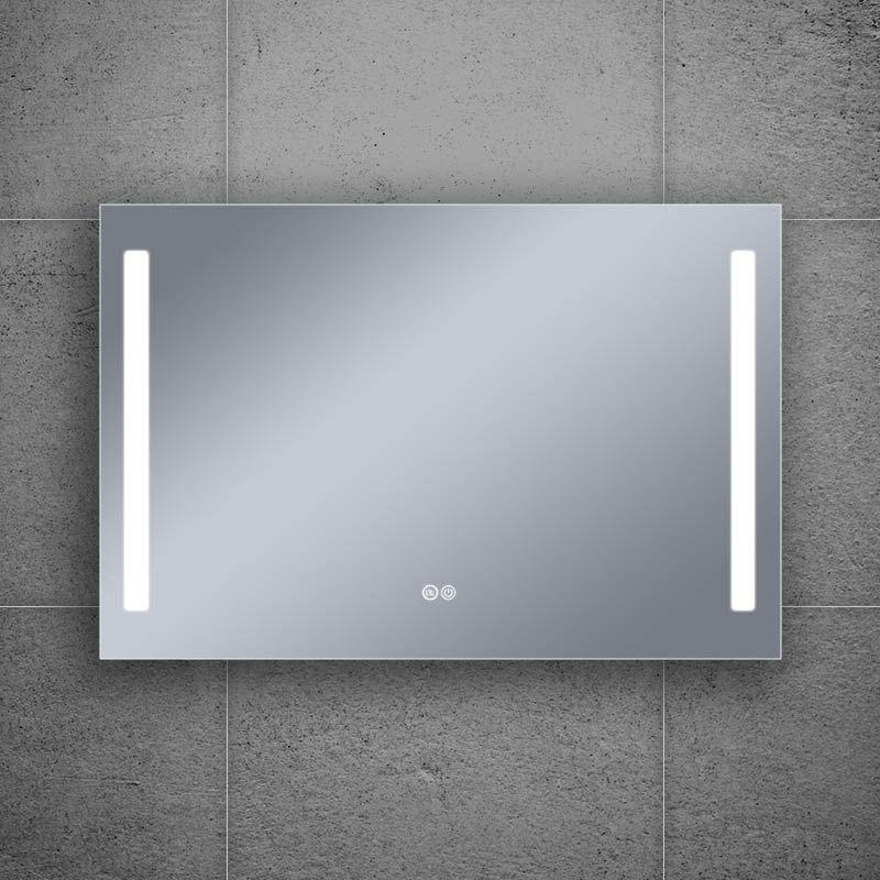 Miroir éclairant LED, 120x80cm, Luce