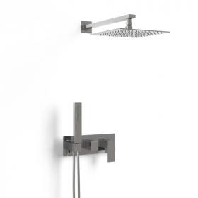 Composition mitigeur de douche encastré chromé,Tuileries