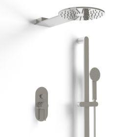 Pack douche mitigeur, douche de tête et douchette, Infinity Flow