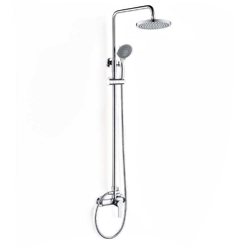 Colonne de douche mitigeur, chromée, Classic