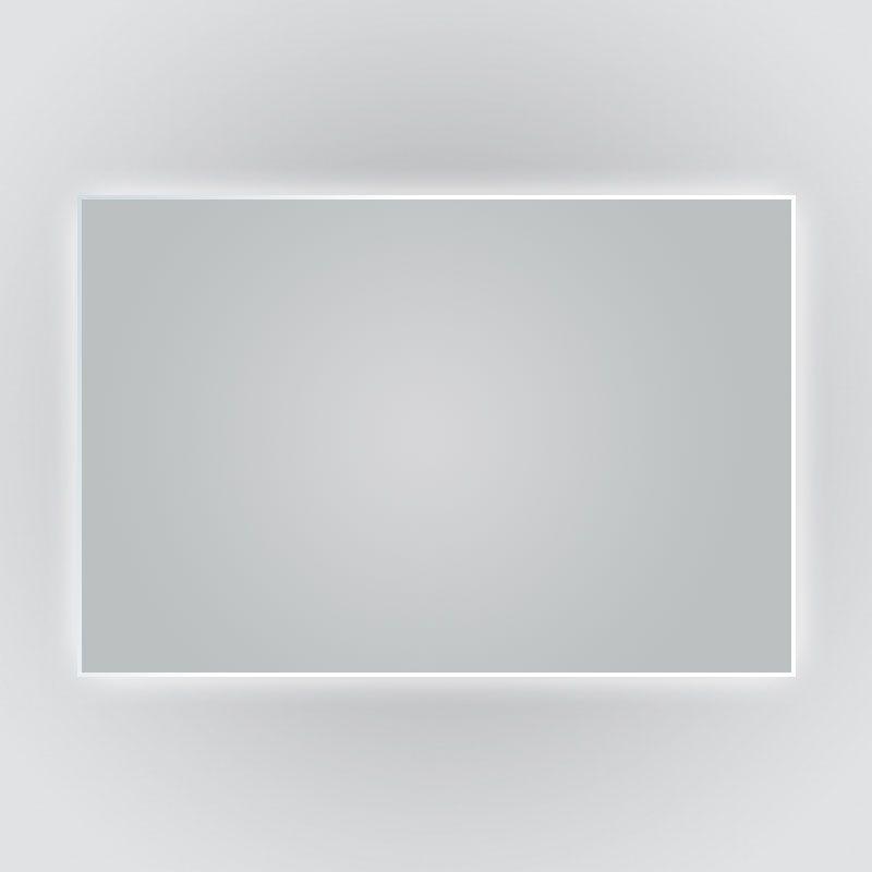 Miroir rétro-éclairant LED, anti-buée, 120x80cm, Norma