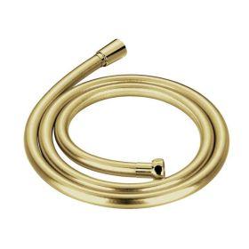 Flexible de douche 150 cm PVC, doré, Liberty