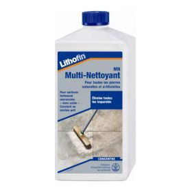 Multi-nettoyant sans acide, 1L, Lithofin MN