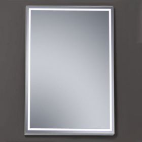 Miroir lumineux LED salle de bain 60x80 cm, Lisbeth