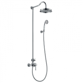 Colonne de douche mitigeur chromée, Liberty