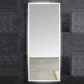 Miroir lumineux LED en pied, 50x135 cm, Dress