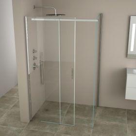 porte de douche water 90 100 cm. Black Bedroom Furniture Sets. Home Design Ideas