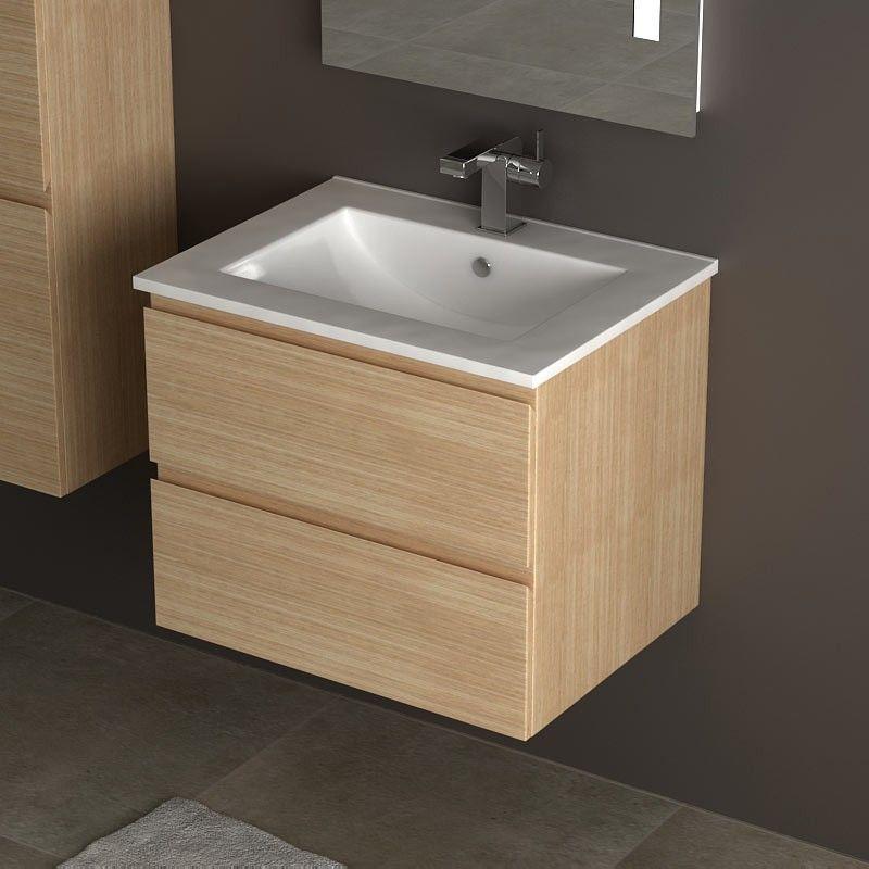 Cardo meuble chene 60cm - Ou acheter meuble salle de bain ...