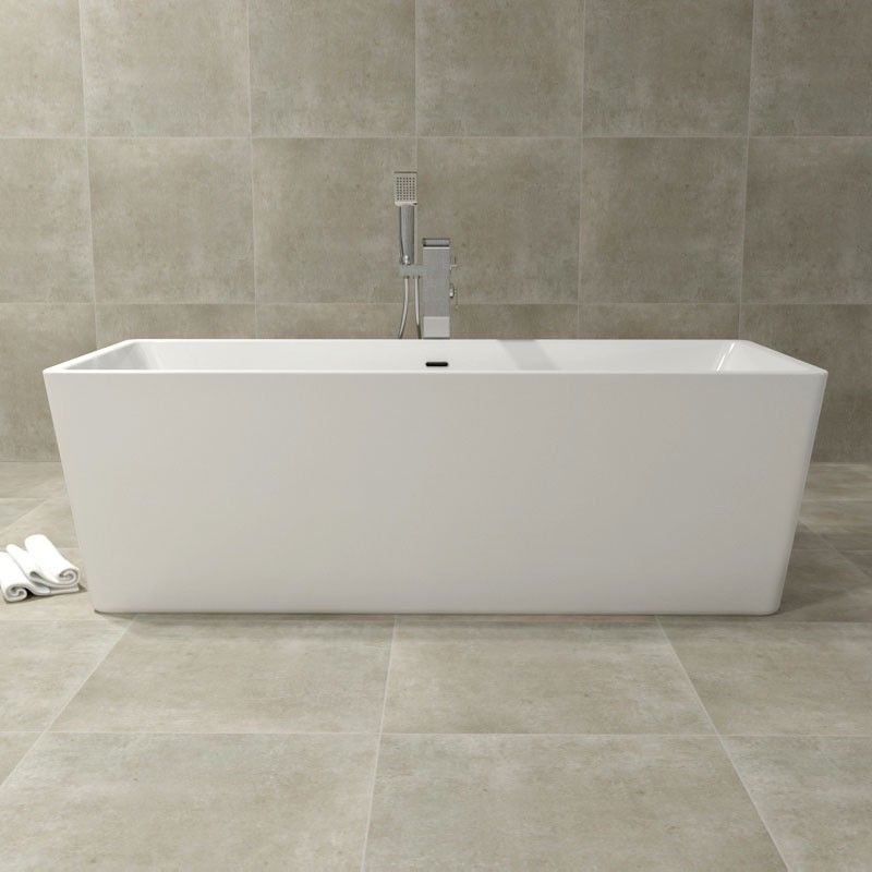baignoire ilot rectangulaire 175 cm acrylique saria. Black Bedroom Furniture Sets. Home Design Ideas