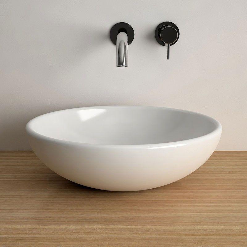 Vasque Ronde A Poser 30 Cm : vasque poser ronde bol 40 cm c ramique aoki ~ Premium-room.com Idées de Décoration