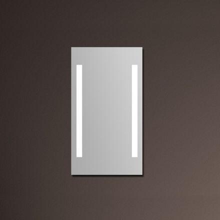 Miroir lumineux salle de bain 45x80 cm - Miroir anti buee salle de bain ...