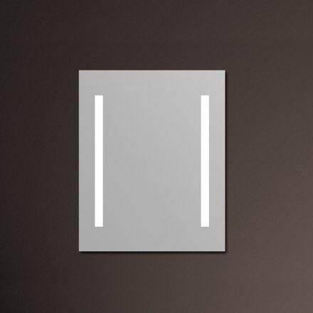 miroir lumineux salle de bain anti bu e 60x80 cm. Black Bedroom Furniture Sets. Home Design Ideas
