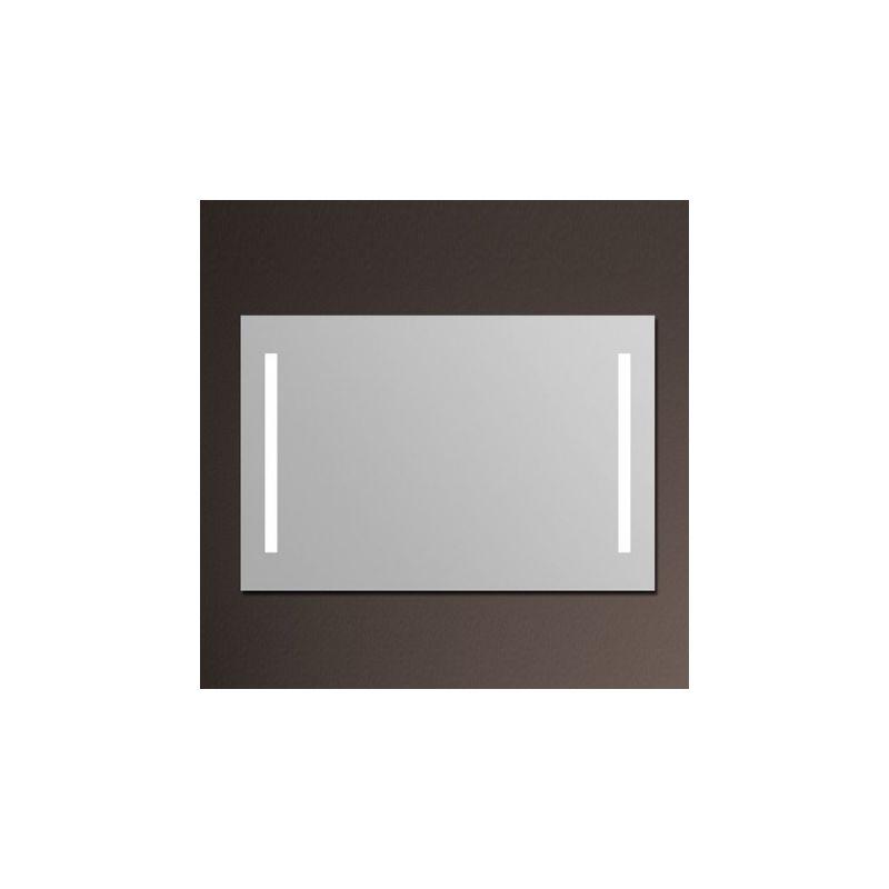 Miroir lumineux salle de bain anti bu e 120x80 cm for Miroir eclairant