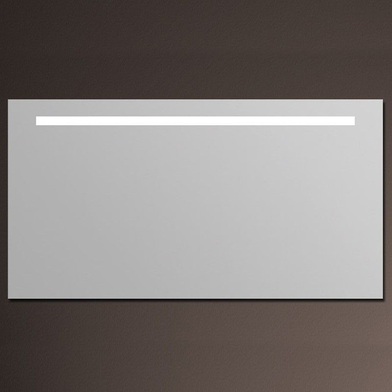 miroir lumineux salle de bain anti bu e 150x80 cm. Black Bedroom Furniture Sets. Home Design Ideas