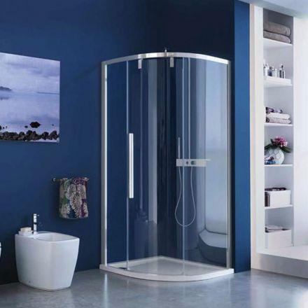 cabine de douche acrux quart de cercle 77 et 89 cm. Black Bedroom Furniture Sets. Home Design Ideas