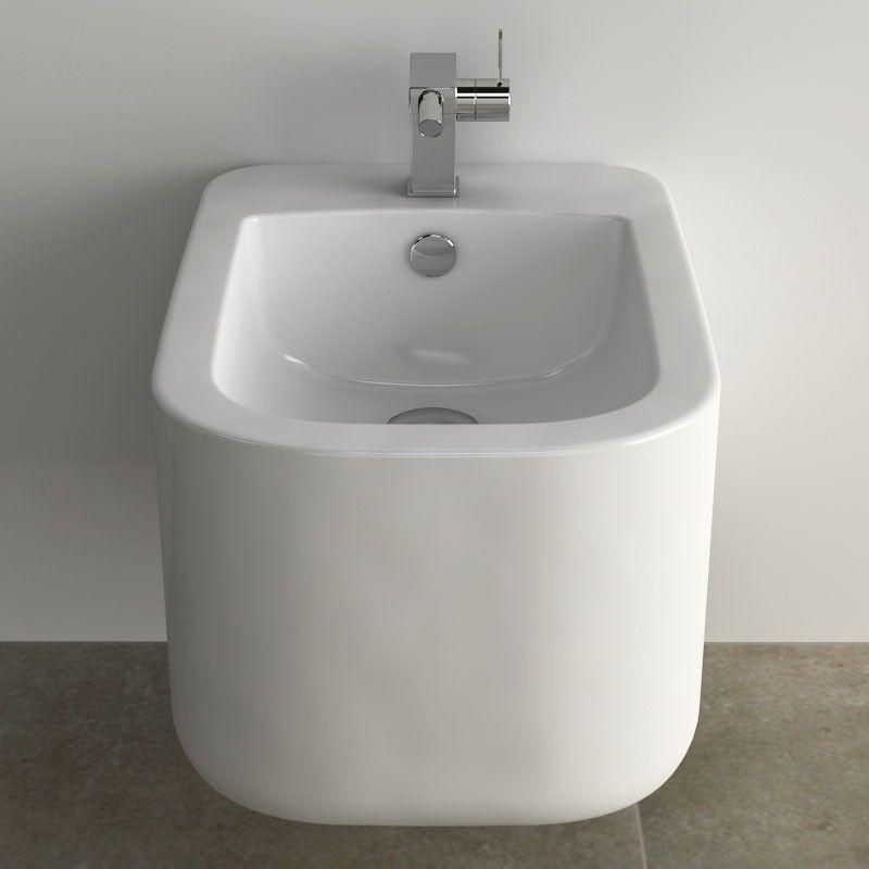 Bidet suspendu doro for Bidet salle de bain