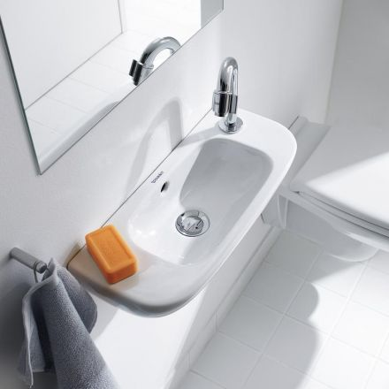 Lave main gain de place 50x22 cm en c ramique d code - Lave linge sechant gain de place ...