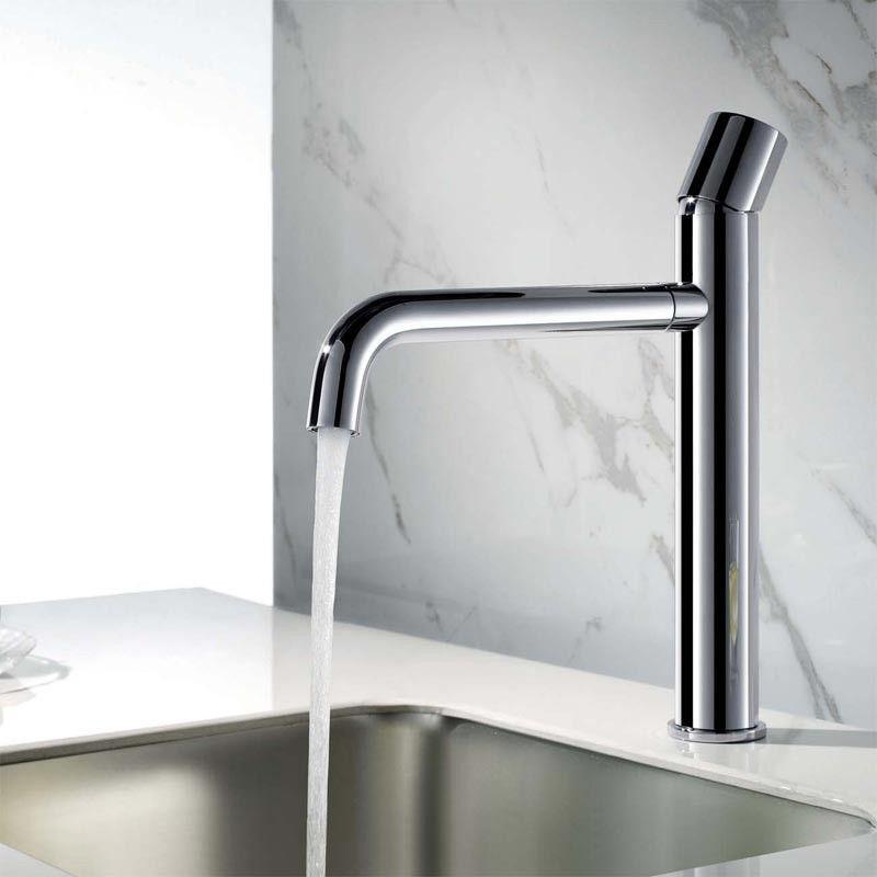 pack vasque poser ronde asako 50 cm miroir led robinet lavabo. Black Bedroom Furniture Sets. Home Design Ideas