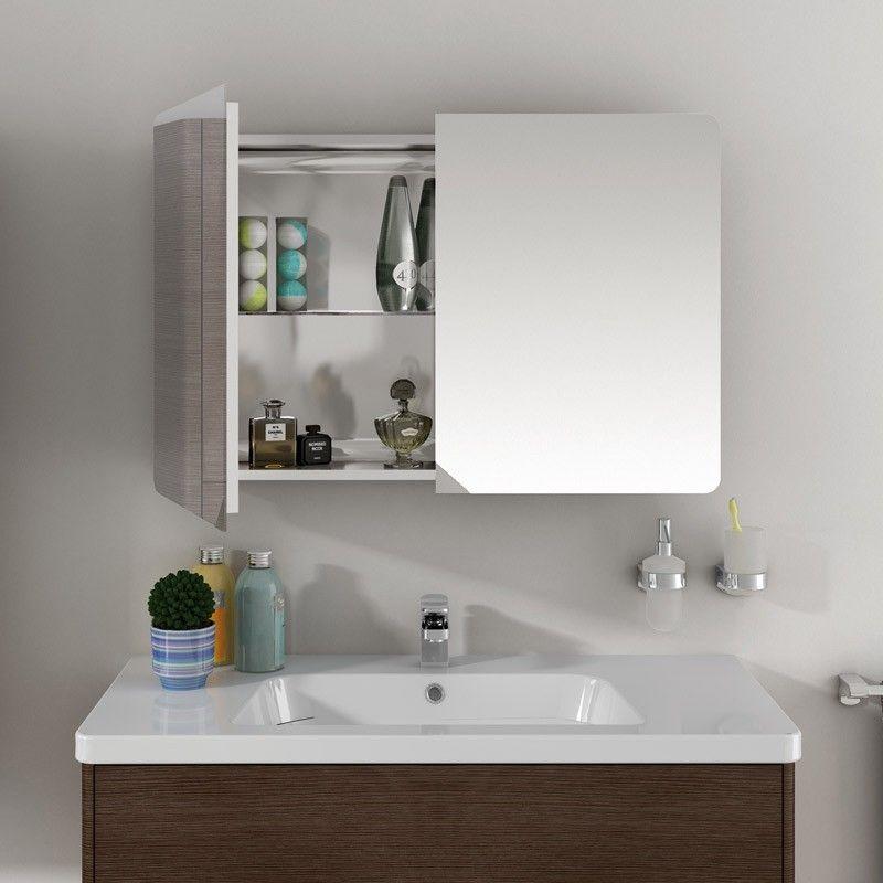armoire de toilette sonia 900 mm. Black Bedroom Furniture Sets. Home Design Ideas