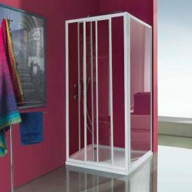 Porte de douche coulissante Ciao, 67 à 93 cm