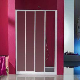 Porte de douche coulissante Ciao, 97 à 121 cm