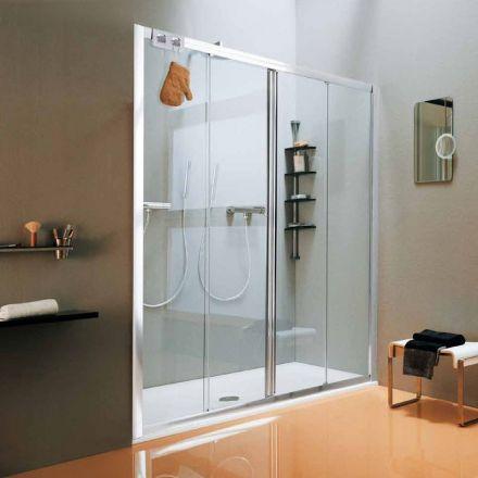 porte de douche coulissante new cee 140 175 cm. Black Bedroom Furniture Sets. Home Design Ideas