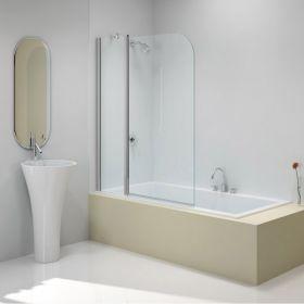 pare baignoire o2 2 volets 90 cm. Black Bedroom Furniture Sets. Home Design Ideas