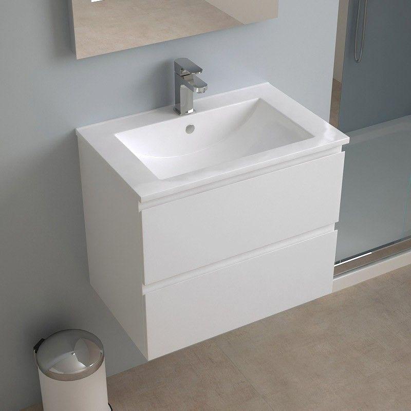 Meuble salle de bain 60 cm faible profondeur plan for Meuble 60x40