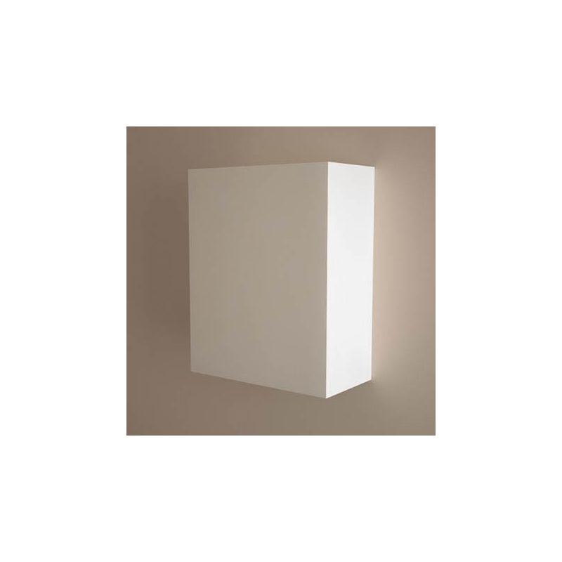 Cube de rangement flex blanc mat 40x45x20cm for Cube de rangement salle de bain