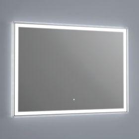 miroir lumineux led salle de bain anti bu e 60x60 cm. Black Bedroom Furniture Sets. Home Design Ideas